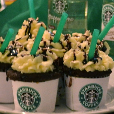 Double Chocolate Chip Starbucks Frappuccino Cupcakes