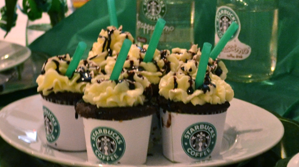 Double Chocolate Chip Frappuccinos In A Cupcake