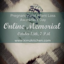Infancy Loss Awareness Day